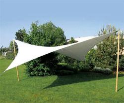La voile sunsol une protection solaire efficace et esth tique - Toile protection solaire ...