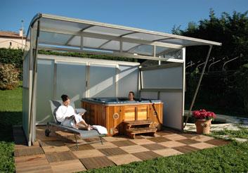un spa pour 4 saisons. Black Bedroom Furniture Sets. Home Design Ideas