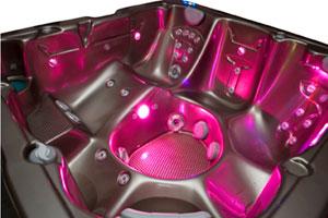 Shadow FX: a new LED lighting for spas   Eurospapoolnews com