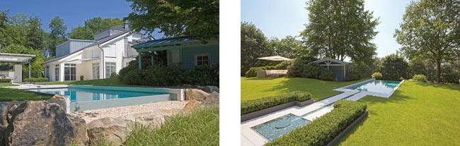 Arredi per piscina pi pratici e naturali for Arredi per piscine