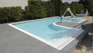Volets roldeck en version polycarbonate hq for Volet polycarbonate piscine