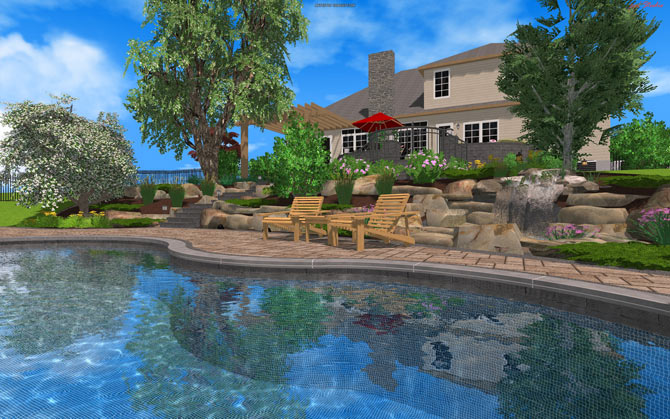Now import directly 2d autocad files into pool studio 3d for 3d pool design software free download