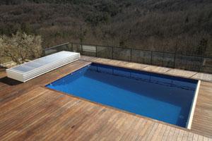 L 39 abri plat amovible d 39 abrin o lib re enti rement la - Prix abri piscine plat ...