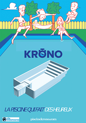 piscine coque Krono d'Alliance Piscines