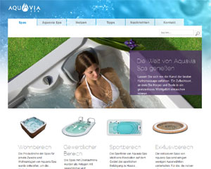 Aquavia site web