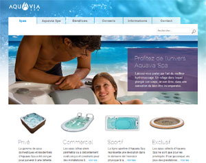 site web Aquavia