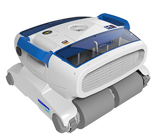 H duo le robot lectrique nettoyeur de piscine haute for Nettoyeur electrique piscine