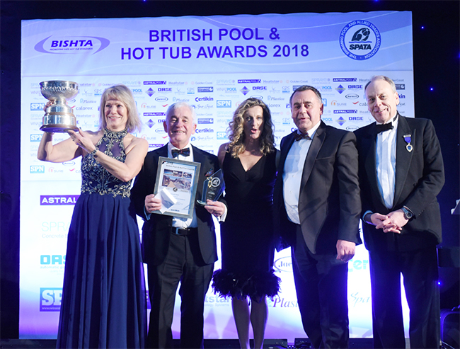 The British Pool & Hot Tub Awards Ceremony