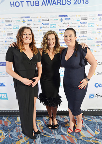 Sally Gunnell - British Pool & Hot Tub Awards 2018 - BISHTA - SPATA