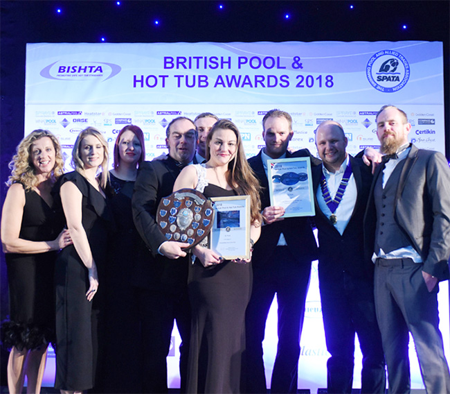XL Pools - British Pool & HotTub Awards 2018