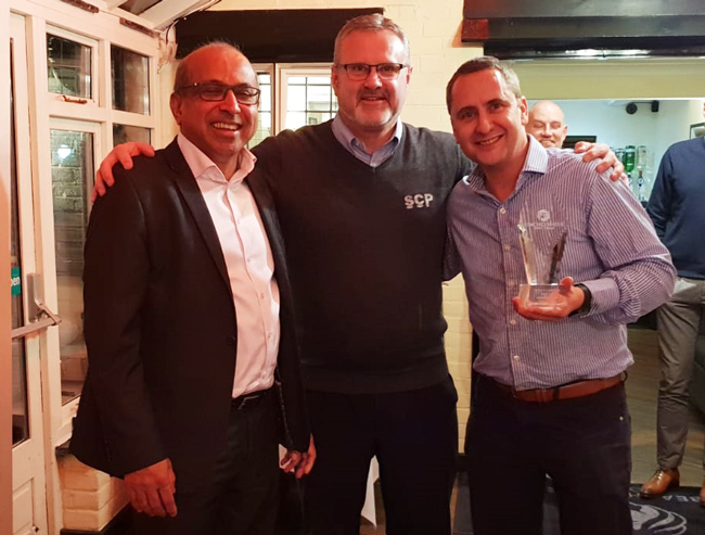 Scp BeachComber Award Dealer of the year 2018