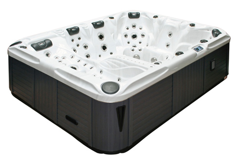 Us market debut for passion spas for Pool spa show vegas 2015