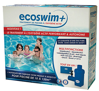 L oxyg ne actif fabriqu directement dans la piscine for Oxygene actif piscine verte