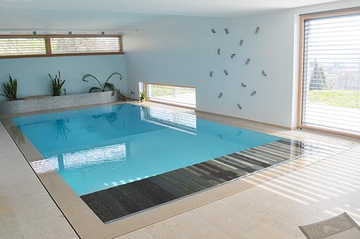 Une piscine miroir sign e koh piscines everblue for C est quoi une piscine miroir