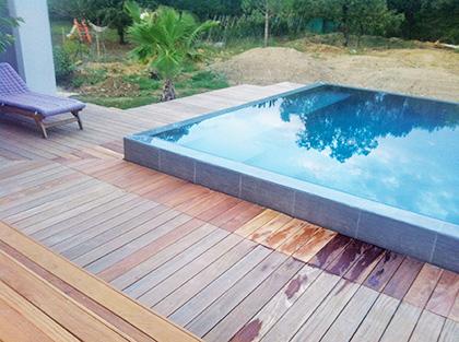 Une piscine design d 39 everblue troph e d 39 or aux 9e for Piscine everblue