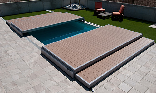 la plateforme mobile deckwell terrasse et protection. Black Bedroom Furniture Sets. Home Design Ideas