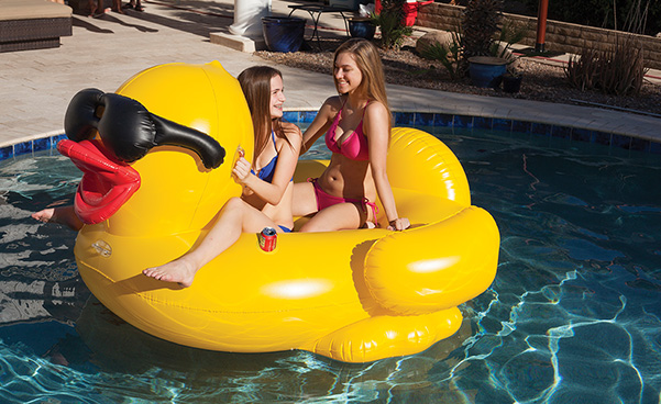 Giant Inflatble Derby Duck