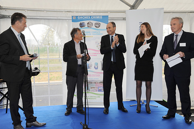 Inauguration Gaches Chimie Ile-de-France