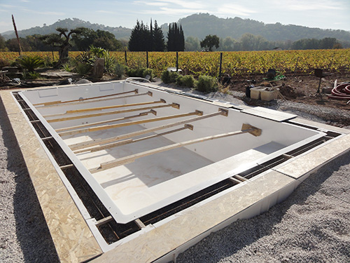 Le chantier ecole g n ration piscine de pierrefeu du var for Generation piscine