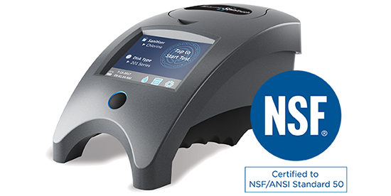 LaMotte's WaterLink Spin photometer now has NSF certification