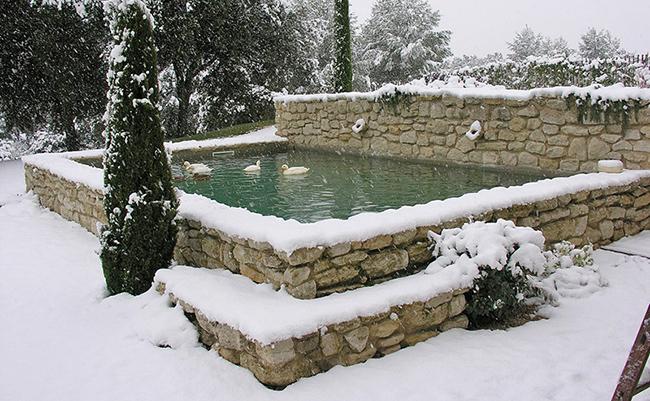 piscine en hiver geree par poolcop
