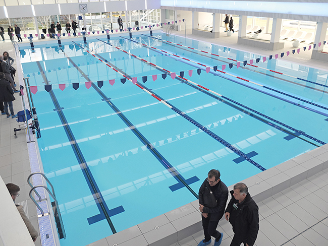 Piscine Alfred Sevestre Issy les Moulineaux