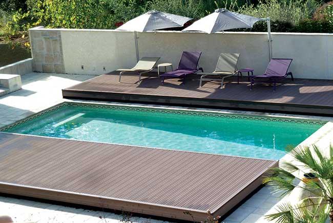 terrasse mobile Pooldeck d'Azenco