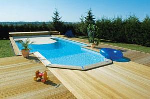 Le nouveau mod le rectangle des piscines ma va durapin for Piscine semi enterree desjoyaux