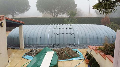 Abri piscine pool up for Abri piscine pool up
