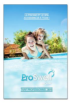 proswell la piscine et le spa accessibles tous. Black Bedroom Furniture Sets. Home Design Ideas