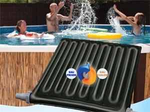les piscines hors sol ont leur chauffage solaire. Black Bedroom Furniture Sets. Home Design Ideas