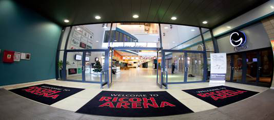 Spatex Ricoh entrance