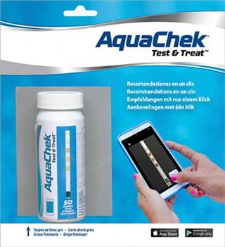 Un nouveau test pour l 39 eau de piscine associant bandelette d 39 analyse et appli smartphone - Test ph piscine ...
