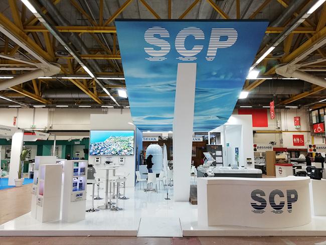SCP Italy al salone Forum Piscine 2019: Stand