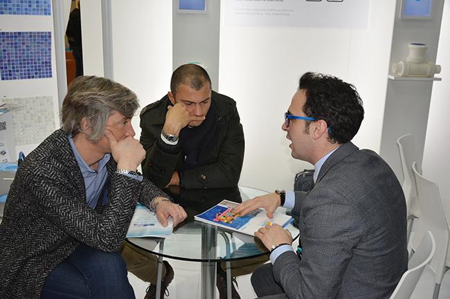SCP Italy al salone Forum Piscine 2019: incontri
