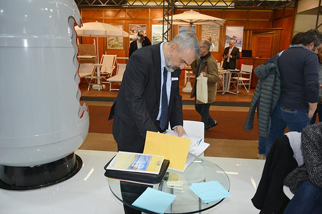SCP Italy al salone Forum Piscine 2019: preparativi