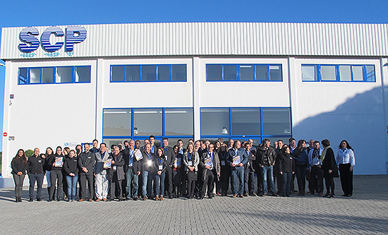 A new warehouse for scp in portugal for Scp distributors swimming pools