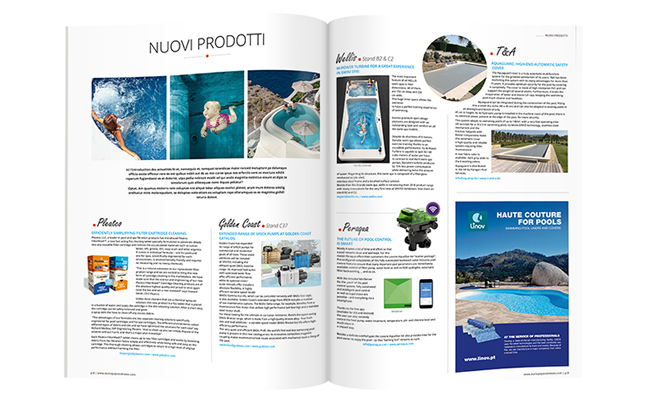 Le JUSTE LIEN Special ITALY journal ouvert maquette