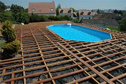 Des formations la conception et la pose d 39 une terrasse for Construire sa piscine en bois