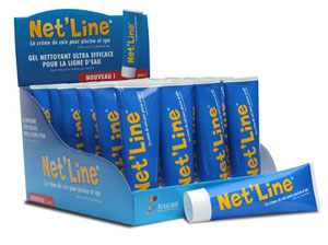 Nouveau gel facile appliquer pour nettoyer les lignes d for Nettoyer ligne d eau piscine