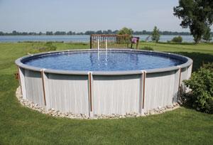 Une gamme exclusive de piscines hors sol en r sine for Piscine en resine hors sol