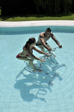 aquabike de Waterflex