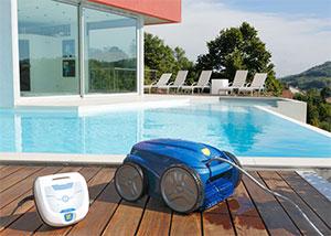 Le robot nettoyeur de piscine vortex 2 de zodiac for Robot nettoyeur spa