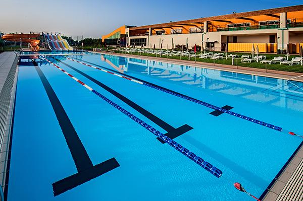 Piscine castiglione realizza le piscine per il seven for Centro sportivo le piscine guastalla