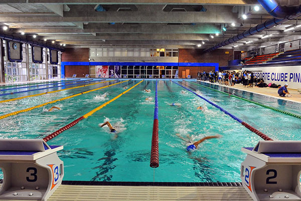 The First 50 Meter Pool Will Be Devoted To Swimming Competitions While A Second Of Same Size Used By Athletes For Warming Up In