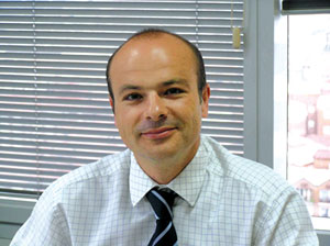 Pedro Arrebola, Business Manager of RENOLIT's Swimming Pool Unit.