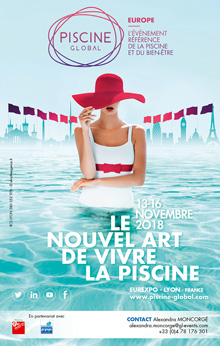 Cartel Piscine Global 2018