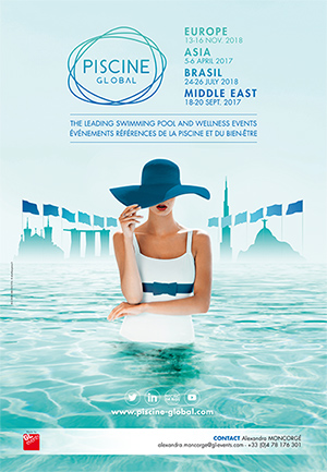 Affiche Salon Piscine Global Lyon