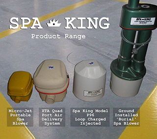 Spa king Product range