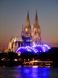 view of the cathedrale of Cologne